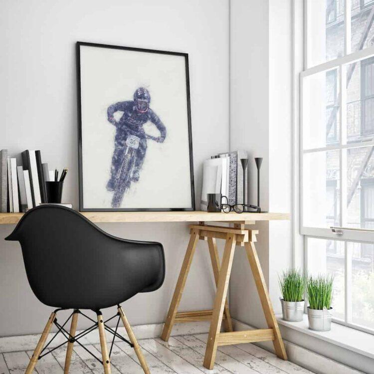 Ainhoa Downhill Poster noanahiko art print home decor