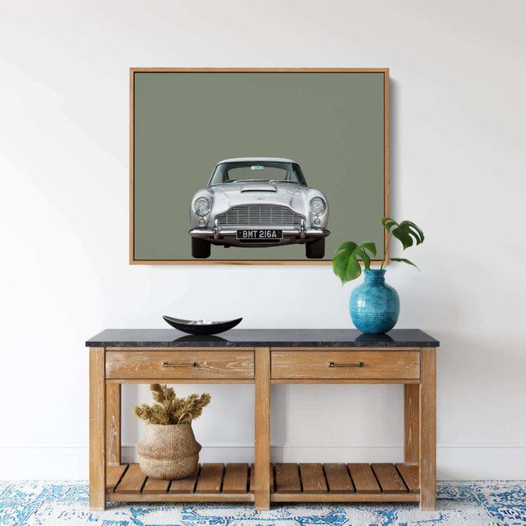 Aston Martin DB5 car Noanahiko Printable 0175
