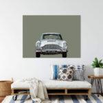 Aston Martin DB5 car Noanahiko Printable Wall Art 0175