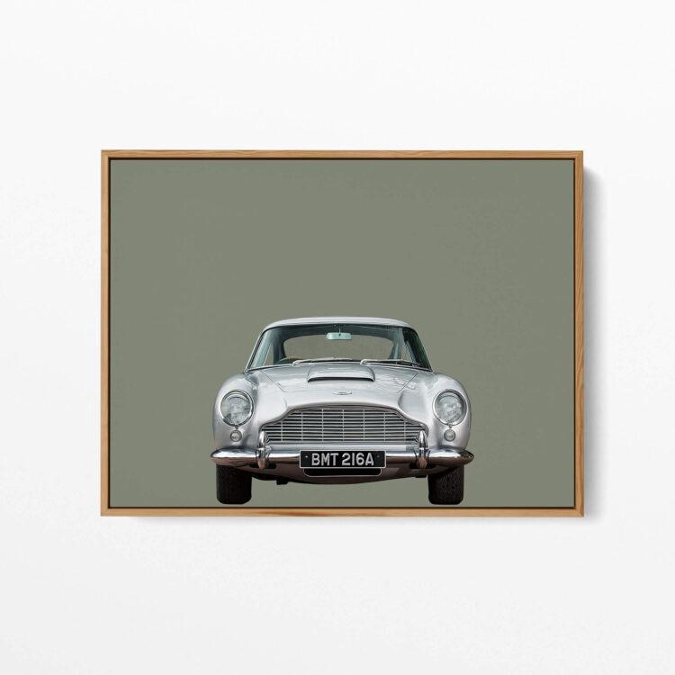 Aston Martin DB5 car Noanahiko art 0175