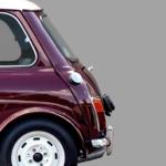 Austin Mini Classic car poster noanahiko art prints detail