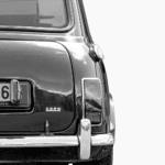 Austin Mini Poster classic car rear art print noanahiko photo