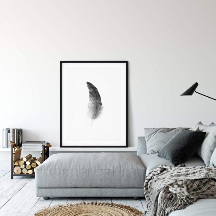 Black Feather Noanahiko Photo Print 0108