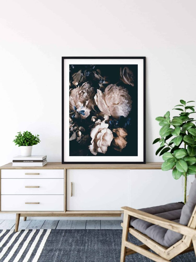 Bouquet Pink Peonies Poster Nonahiko download scaled 1