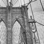Brooklyn bridge poster print home decor photo