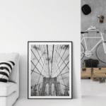 Brooklyn bridge poster print home photo