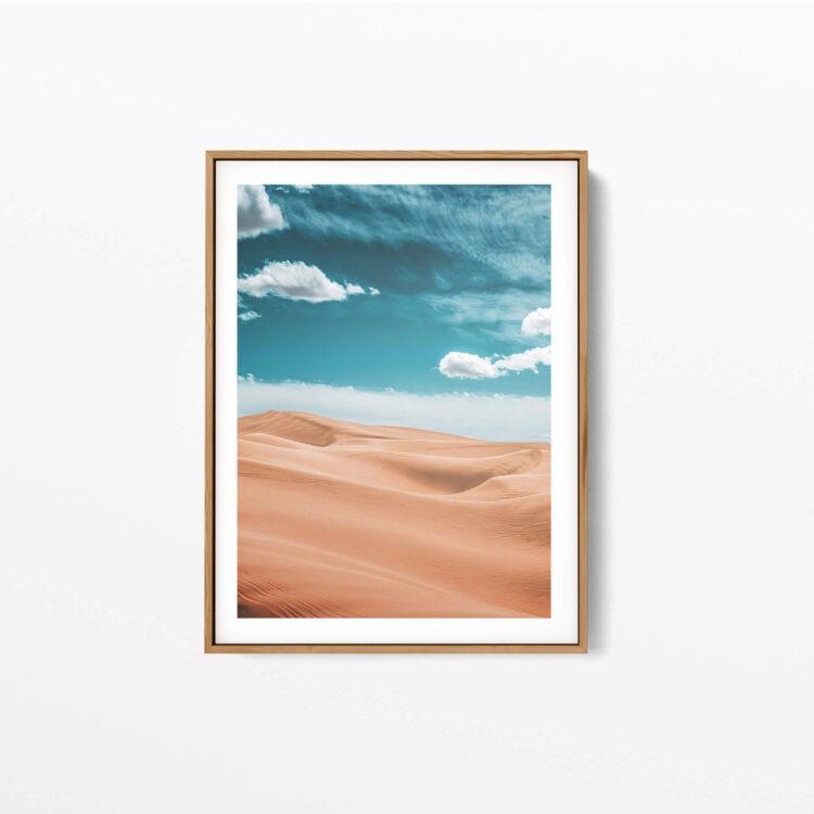 California Desert Glamis Dunes Noanahiko Art Print 0110