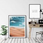California Desert Glamis Dunes Poster Noanahiko 0110