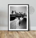 California Skater poster noanahiko art print