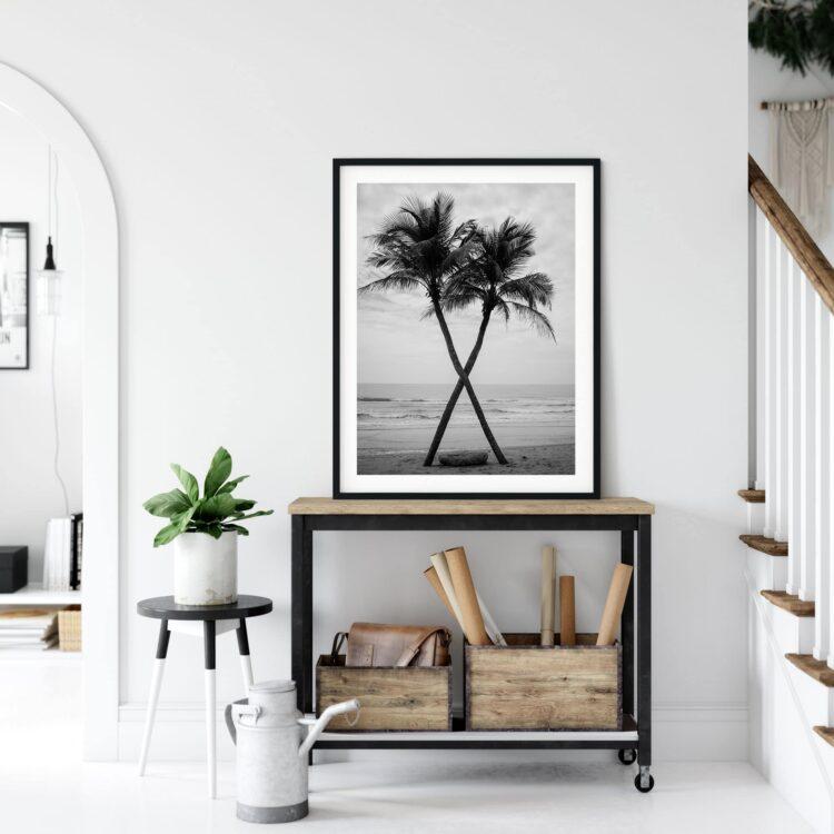 Coconut The Beach Poster Noanahiko 0099
