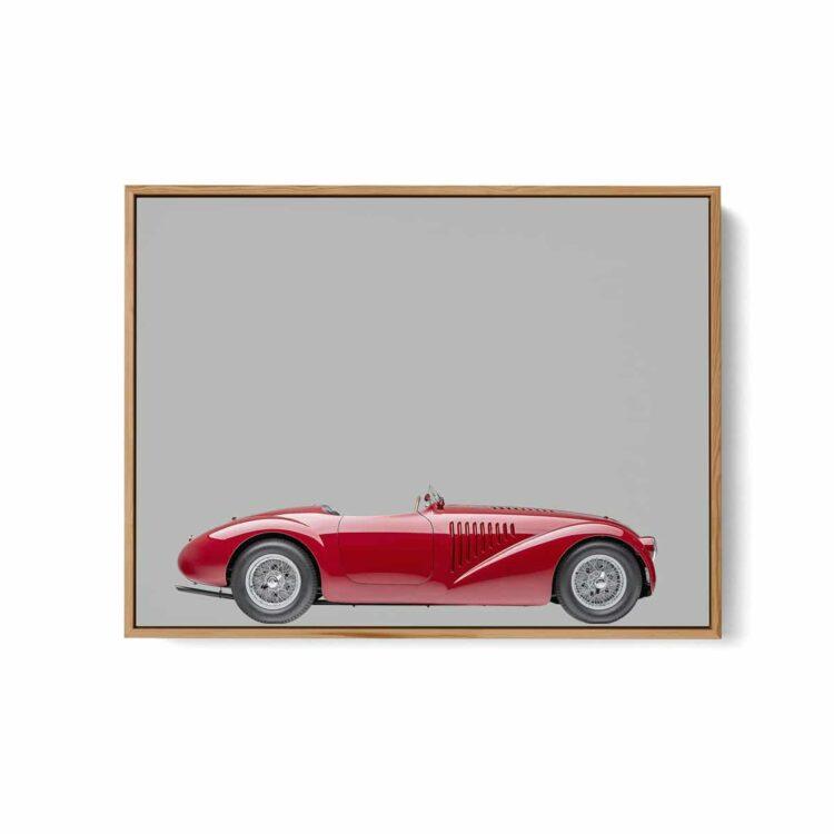 Ferrari 125 Sport 1947 car Noanahiko art w 0172