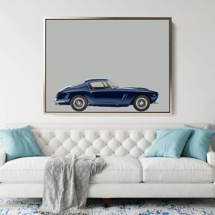 Ferrari 250GT 1963 sportscar Noanahiko Art Print 0173
