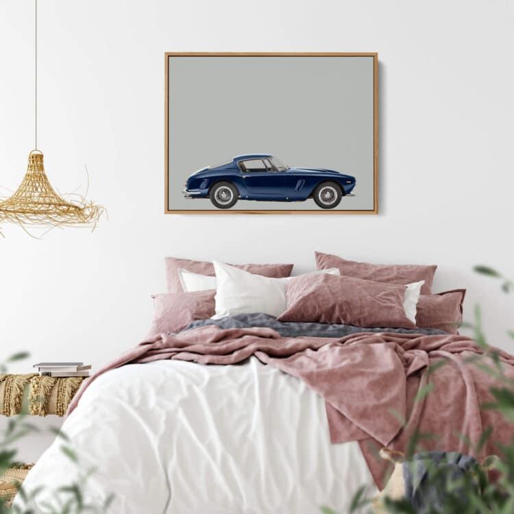 Ferrari 250GT 1963 sportscar Noanahiko Printable 0173