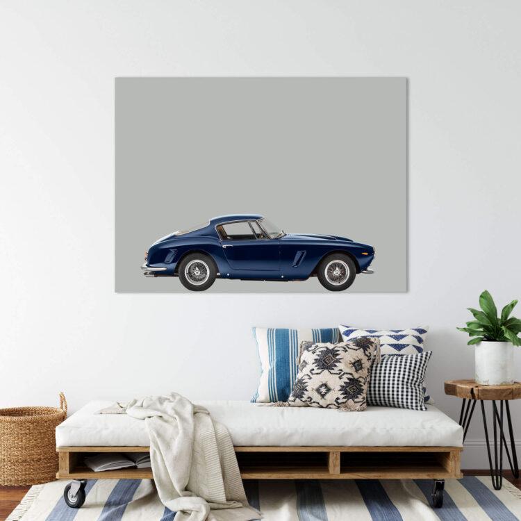Ferrari 250GT 1963 sportscar Noanahiko Printable Wall Art 0173