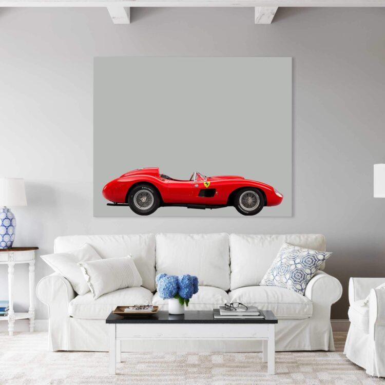 Ferrari 857 S Sports Car Noanahiko Art Print 0160 03