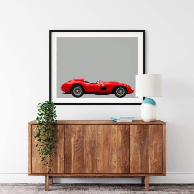 Ferrari 857 S Sports Car Noanahiko Printable 0160 03