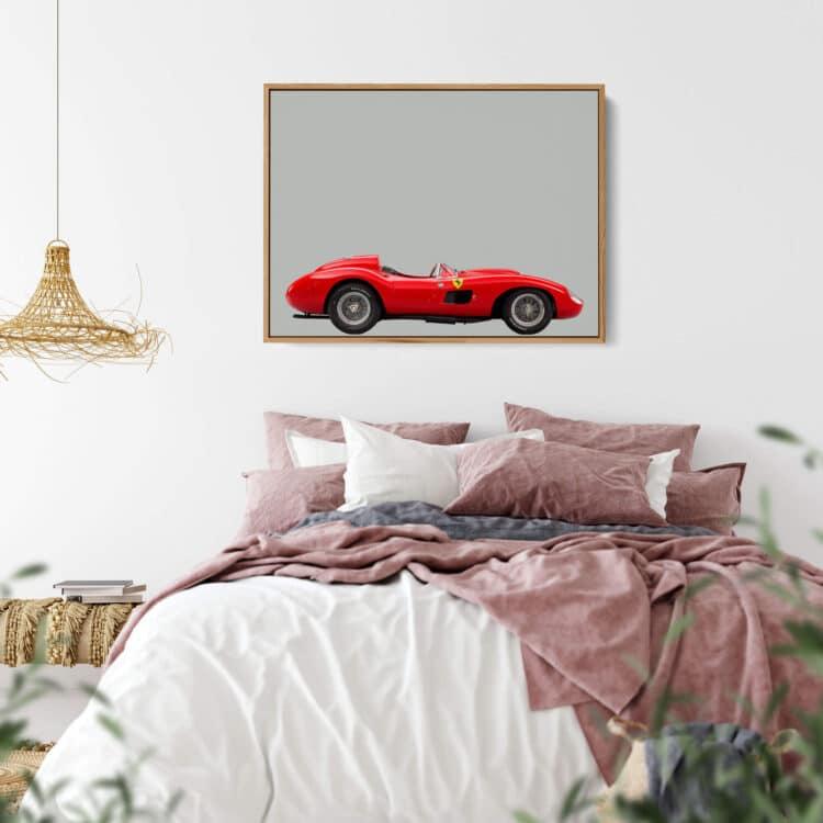 Ferrari 857 S Sports Car Poster Noanahiko 0160 03