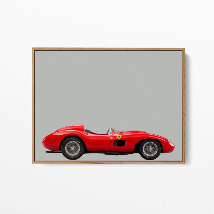 Ferrari 857 S Sports Car Poster photography Noanahiko 0160 03