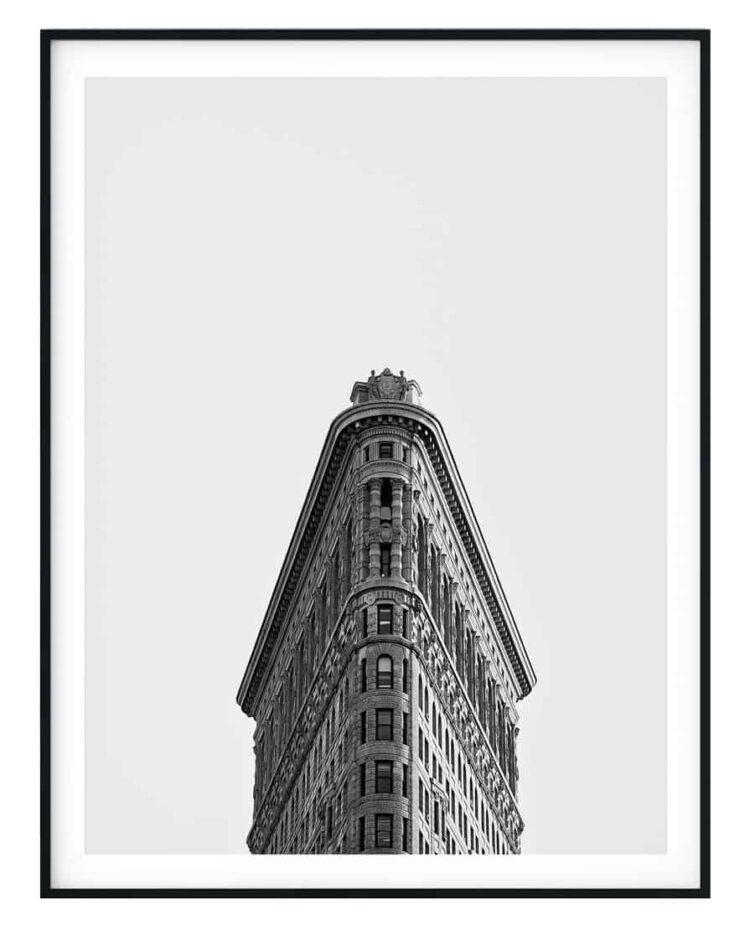 Flatiron Building New York Poster noanahiko home decor featured