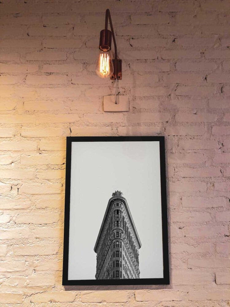 Flatiron Building New York Poster noanahiko print photo decor