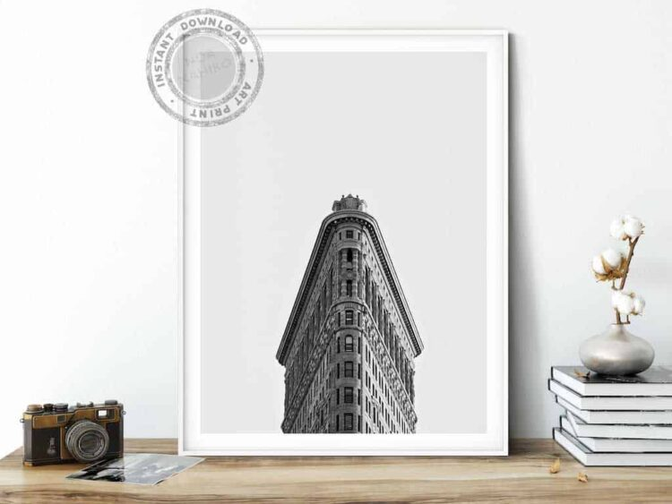 Flatiron Building New York Poster noanahiko wall art