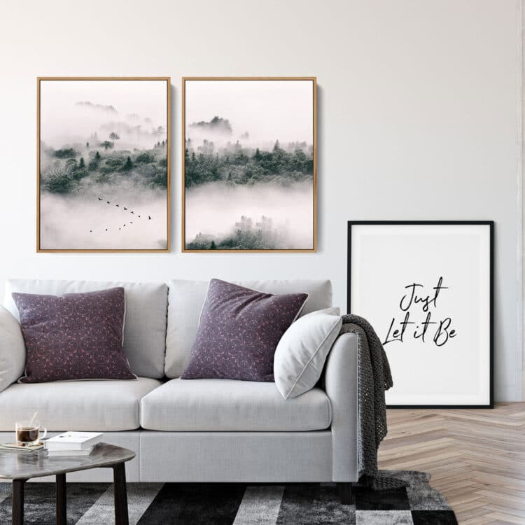 Forest of Spruces Noanahiko Art Print