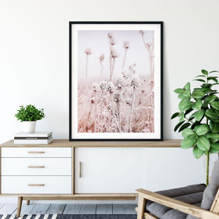 Frosty Dry Herb Poster Noanahiko 0136