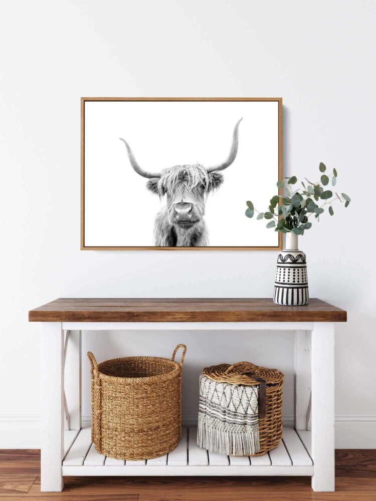 Highland Cow Scotland Noanahiko Printable Wall Art 0153