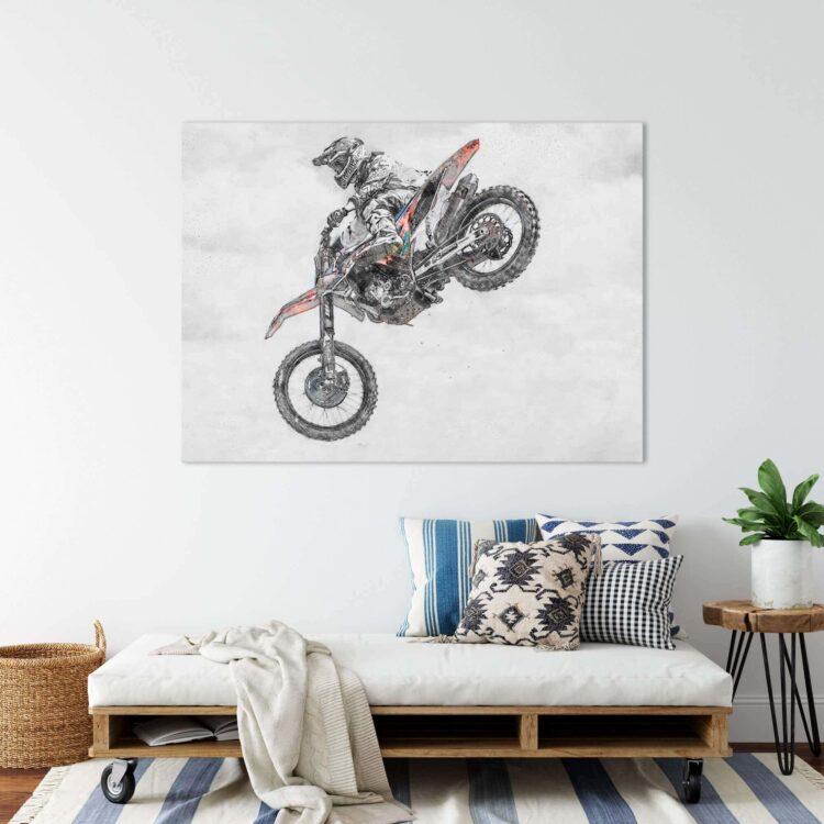 MX Motocross Air Time Noanahiko Photo Print 0177
