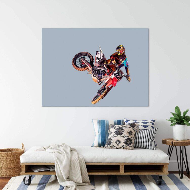MX Motocross Whip Noanahiko Printable Wall Art 0174