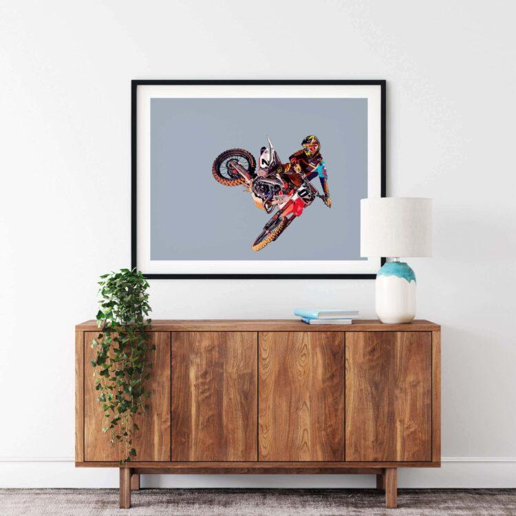 MX Motocross Whip Poster Noanahiko 0174