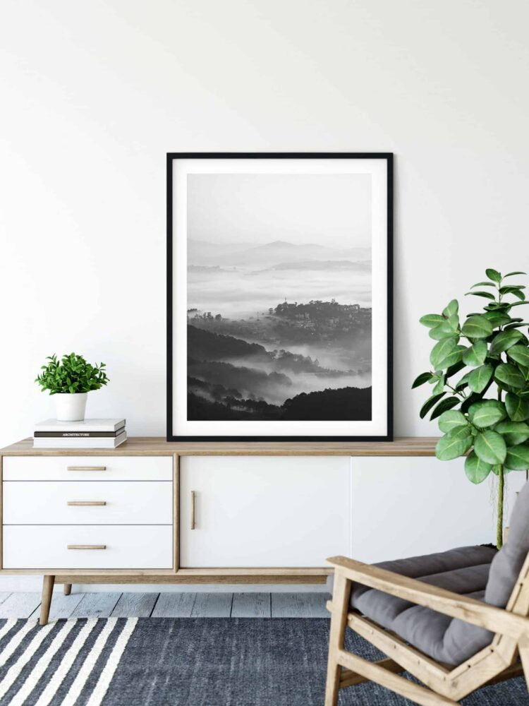 Mountains Forest Poster Noanahiko Art Print scaled 1