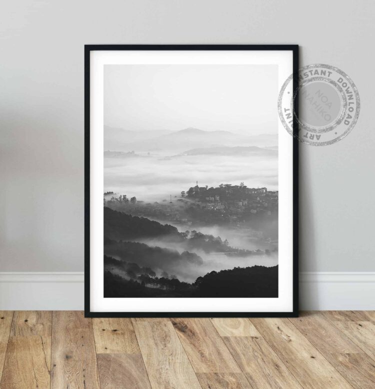 Mountains Forest Poster Noanahiko Download