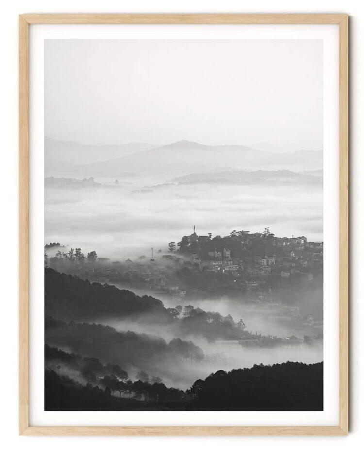 Mountains Forest Poster Noanahiko printable
