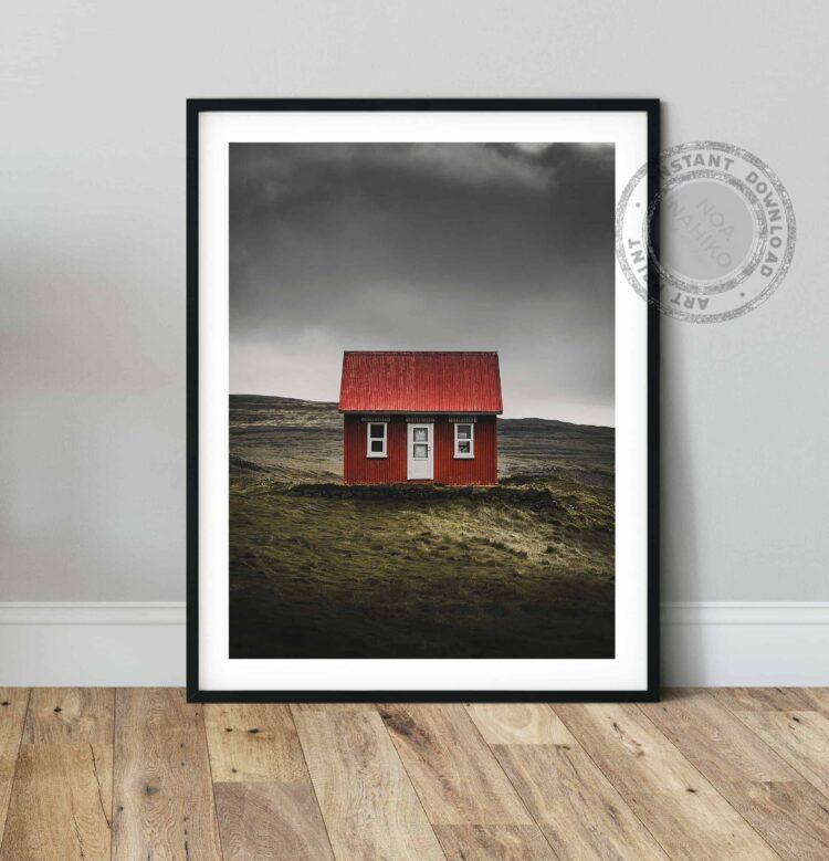 Nordic House Poster noanahiko printable