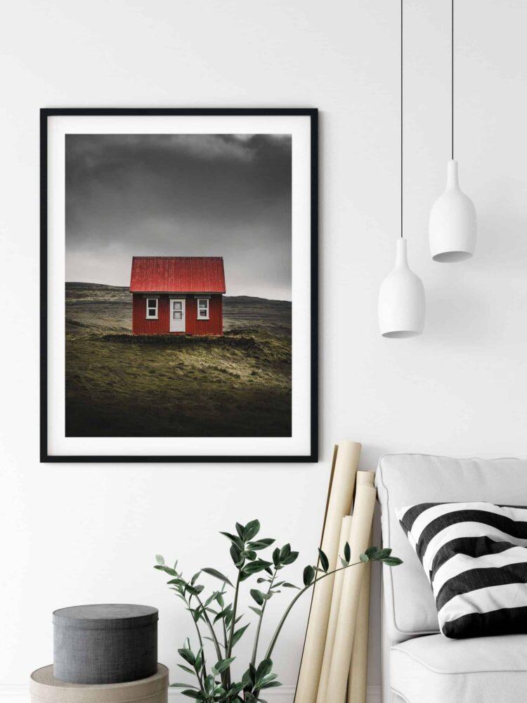 Nordic House Poster noanahiko wall art scaled 1