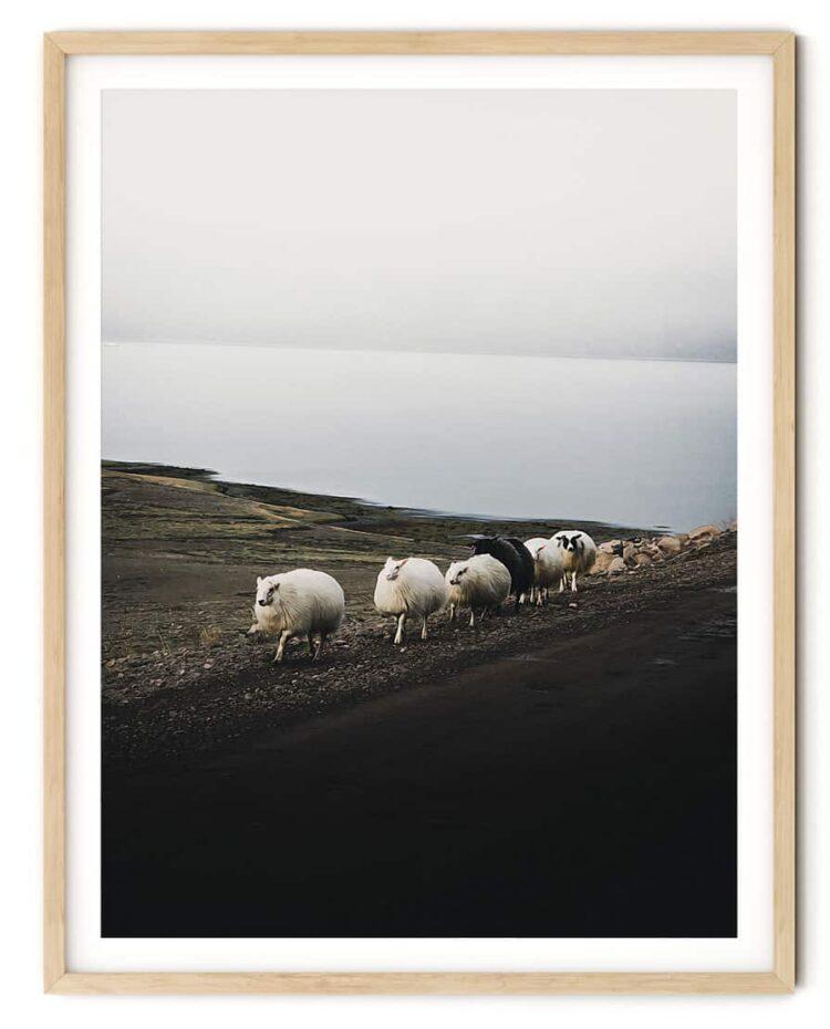 Nordic Scene Poster noanahiko print 0086