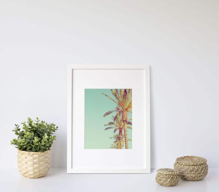 Palm Trees Noanahiko Art Print 0142