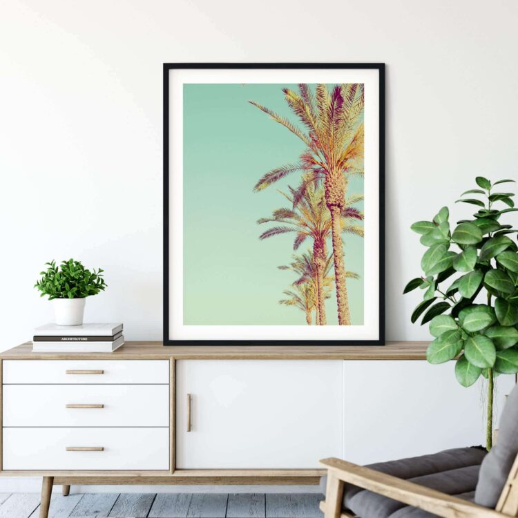 Palm Trees Poster Noanahiko 0142