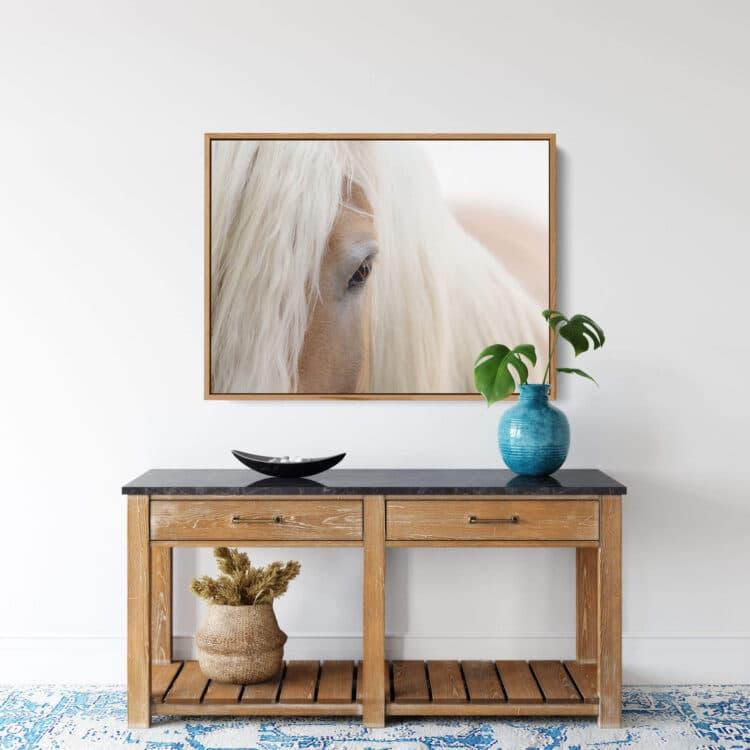 Portrait Haflinger Horse Noanahiko Photo Print 0180
