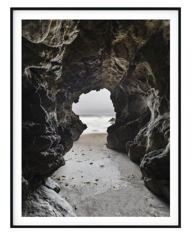 Sea cave poster Noanahiko art print