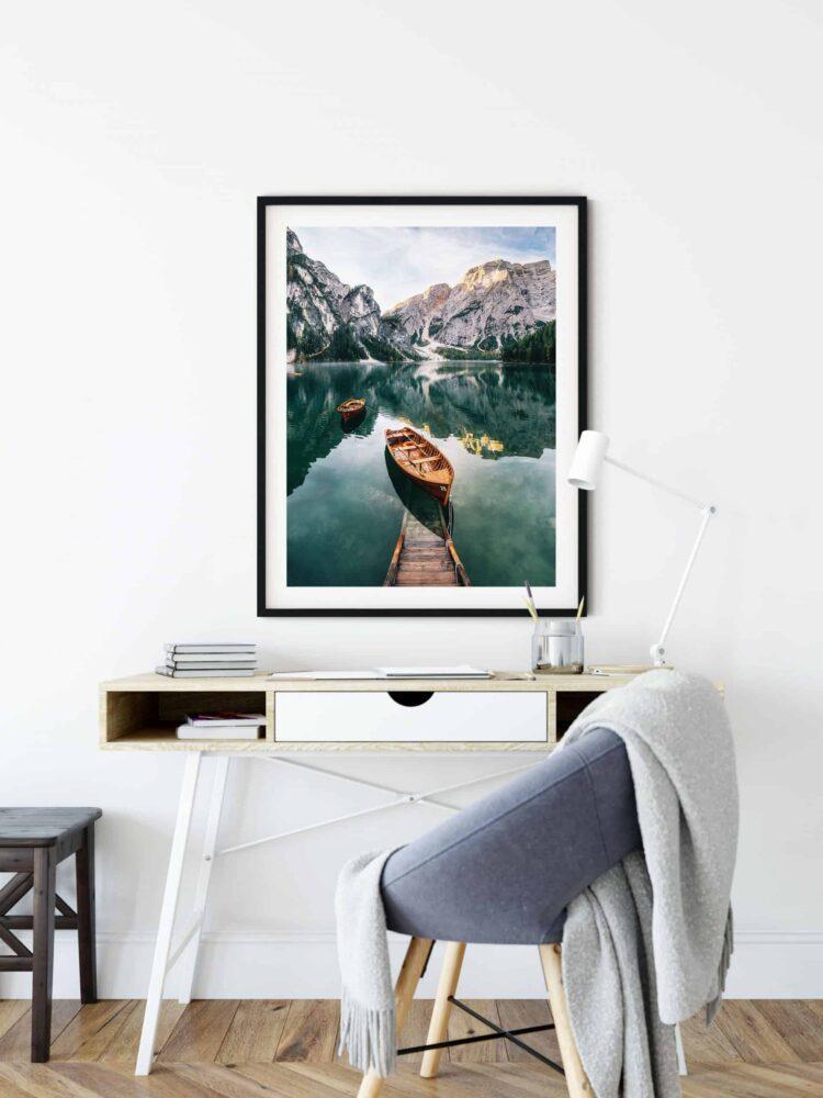 Seekofel mountain Dolomites Poster Noanahiko Art Print Photography 0093 scaled 1