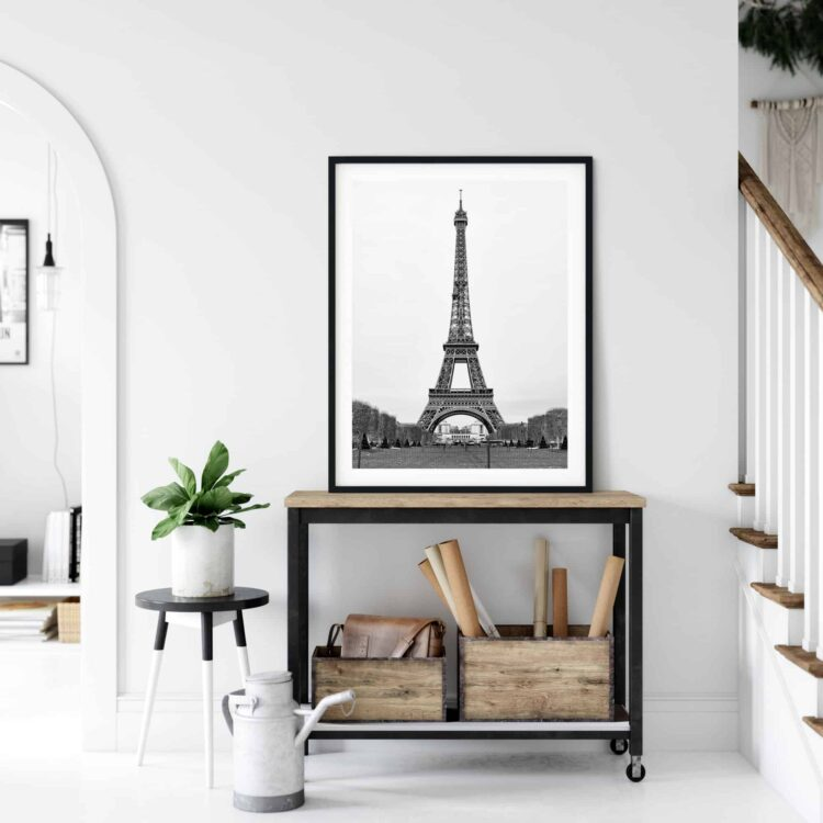 The Eiffel Tower in Paris Poster