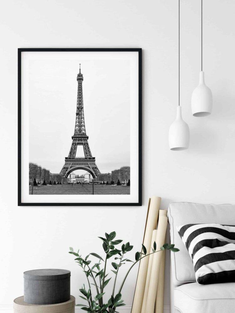 The Eiffel Tower in Paris Poster noanahiko art print scaled 1