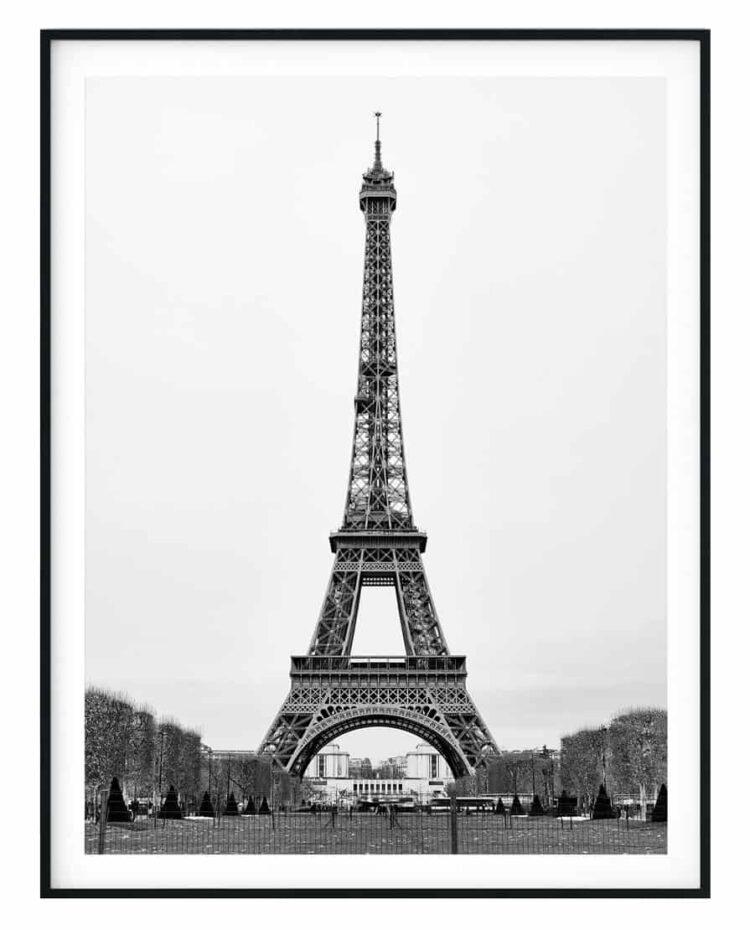 The Eiffel Tower in Paris Poster noanahiko art prints