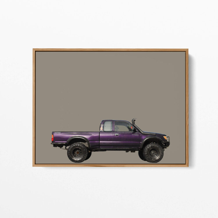 Toyota Tacoma Off road Side Noanahiko art 00179