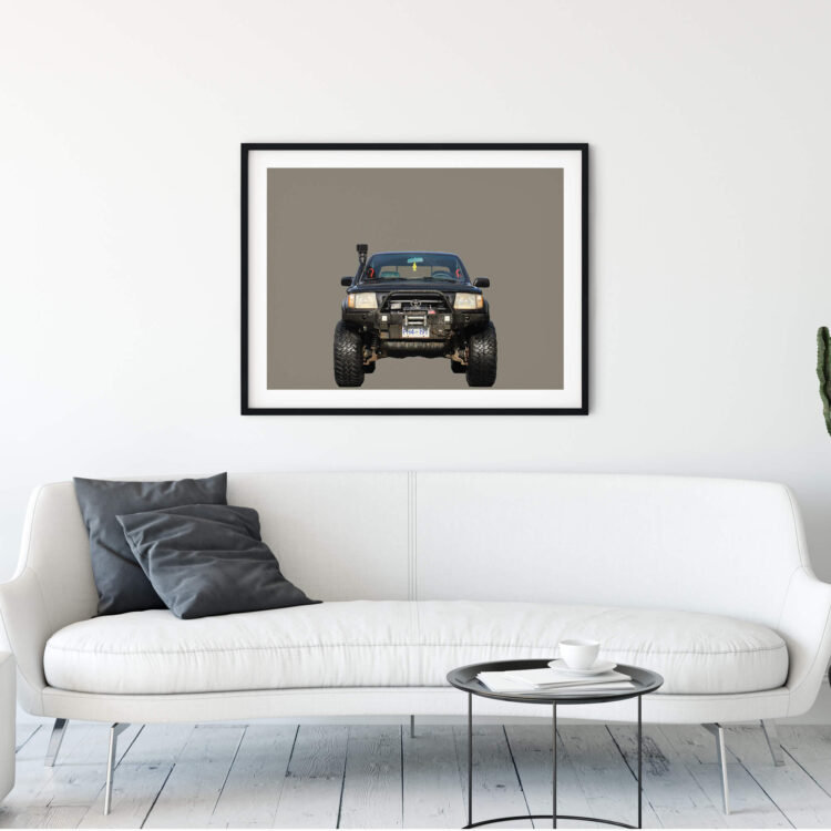 Toyota Tacoma Off road front Noanahiko Printable Wall Art 0178