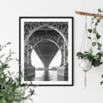 Williamsburg Bridge NY Noanahiko Printable Wall Art 0154