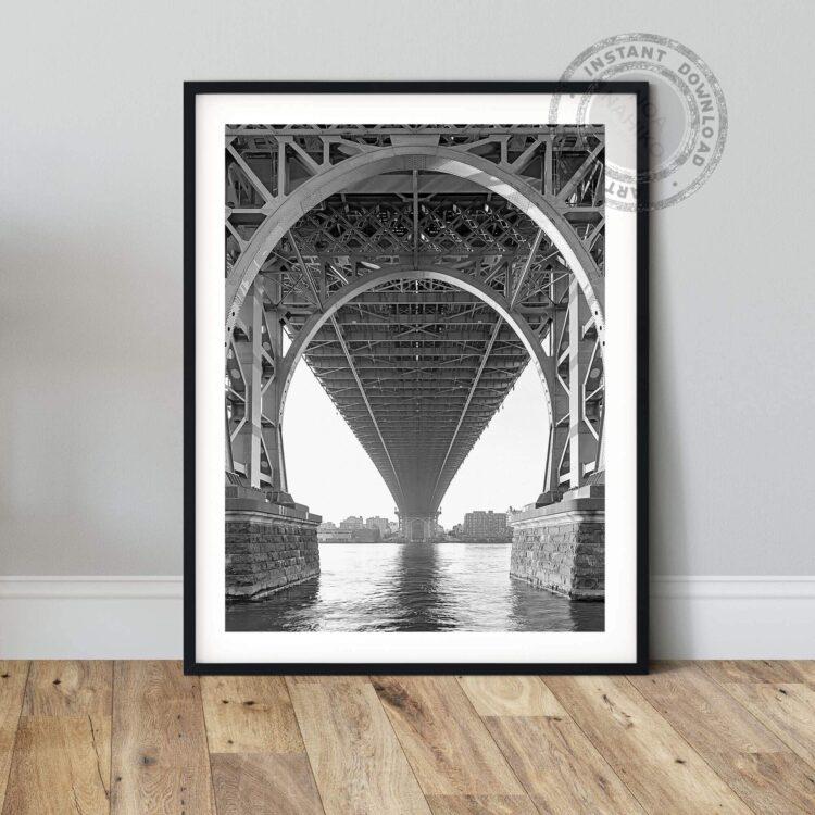 Williamsburg Bridge NY Noanahiko art 0154