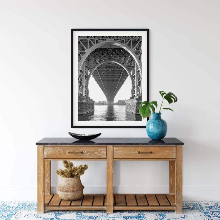 Williamsburg Bridge NY Poster Noanahiko 0154